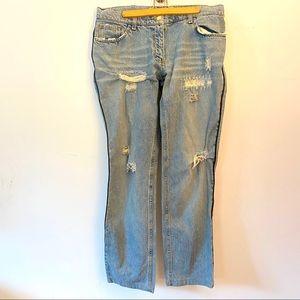 distressed Dolce & Gabbana  Jeans